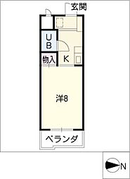 第1イッセイマンション[3階]の間取り