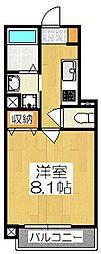 仮称)南区東九条西明田町マンション[501号室]の間取り