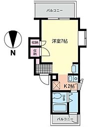 ギャラリー湘南台[3階]の間取り