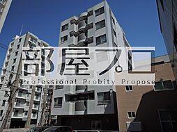 北海道札幌市中央区北一条東2丁目の賃貸マンションの外観