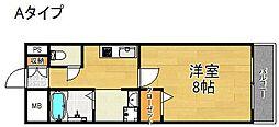 フォレストインサイドII[2階]の間取り