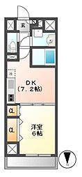 コンセール葵[2階]の間取り