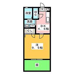 セフィラIZUMI[1階]の間取り