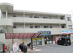 岡山県総社市中央2丁目の賃貸マンションの外観