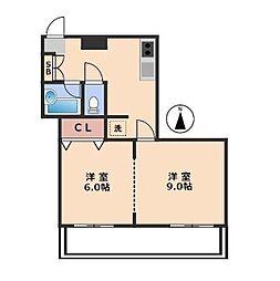 OSIビル[3階]の間取り