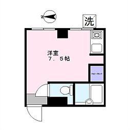 K[102号室]の間取り
