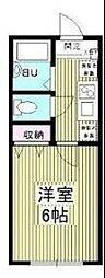 サニーヒル宮崎台[1階]の間取り