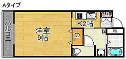 アストロアーク[4階]の間取り