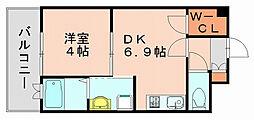 カーサ エンペサール[9階]の間取り