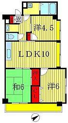 第15ユーカリハイツ[3階]の間取り