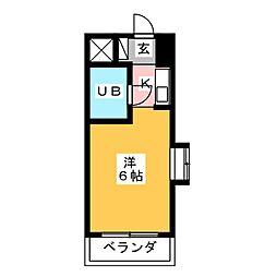 ドール滝子[1階]の間取り
