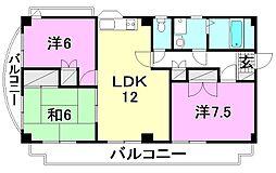 内海小栗マンション[201 号室号室]の間取り