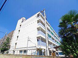 清水マンション[5階]の外観