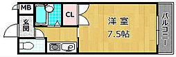 M'PLAZA津田駅前八番館[4階]の間取り