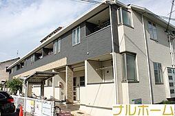 大阪府大阪市平野区加美正覚寺3丁目の賃貸アパートの外観