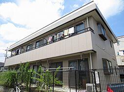 東京都昭島市昭和町1丁目の賃貸アパートの外観