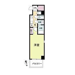La Douceur心斎橋(旧 COMODA CASA)[0204号室]の間取り