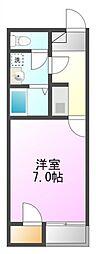 コーポニッコー[2階]の間取り