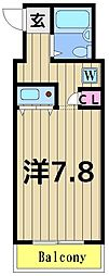 東京都足立区梅田6丁目の賃貸マンションの間取り