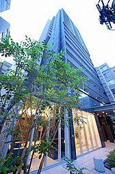 プレサンスタワー北浜[2階]の外観