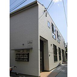 東京都葛飾区新宿2丁目の賃貸アパートの外観