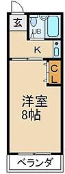 S&Yハイツ[1階]の間取り