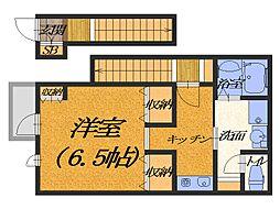 あんしん+宿屋町東[2階]の間取り
