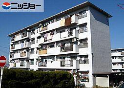 上の山団地5号棟103号室[1階]の外観