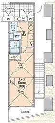 信栄ビル3[2階]の間取り