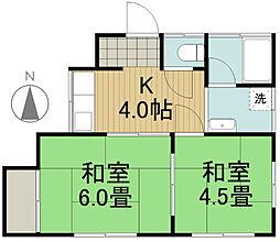 [一戸建] 東京都西東京市保谷町4丁目 の賃貸【/】の間取り