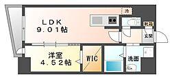 LAZO Kiyokawa[12階]の間取り