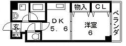 パインクレスト[106号室号室]の間取り