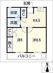 テナント山本(Always8)[2階]の間取り
