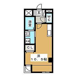 ノーブルコート台原[3階]の間取り