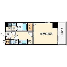 キャナル天満橋[6階]の間取り