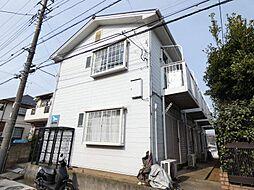千葉県松戸市二十世紀が丘梨元町の賃貸アパートの外観