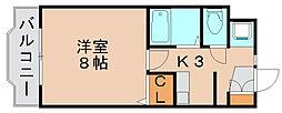 プレスト箱崎ステーション[5階]の間取り