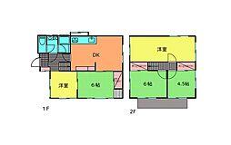 [一戸建] 神奈川県茅ヶ崎市南湖2丁目 の賃貸【/】の間取り