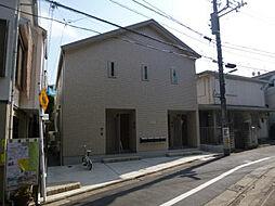 東京都目黒区目黒3丁目の賃貸アパートの外観