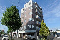 北海道札幌市東区北二十六条東21丁目の賃貸マンションの外観