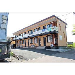 北海道北見市文京町の賃貸アパートの外観