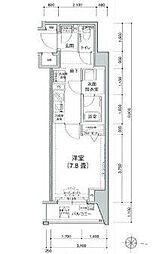 アイルルシェール錦糸町[2階]の間取り