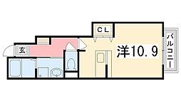 メゾネット・アンジュ弐番館[106号室]の間取り
