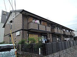 京都府宇治市槇島町落合の賃貸アパートの外観