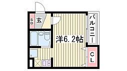 新神戸ステーションパーク[3階]の間取り