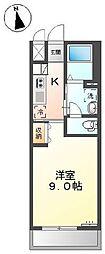 横浜市営地下鉄ブルーライン 戸塚駅 徒歩20分の賃貸アパート 2階1Kの間取り