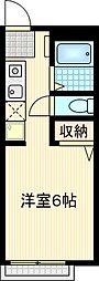 ハウスアイテムII[203号室]の間取り