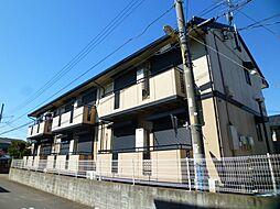 埼玉県上尾市中妻4丁目の賃貸アパートの外観