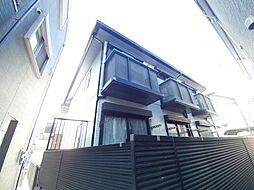兵庫県神戸市東灘区住吉宮町1丁目の賃貸アパートの外観