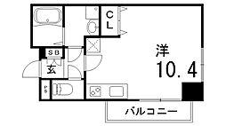 兵庫県神戸市兵庫区大開通7丁目の賃貸マンションの間取り
